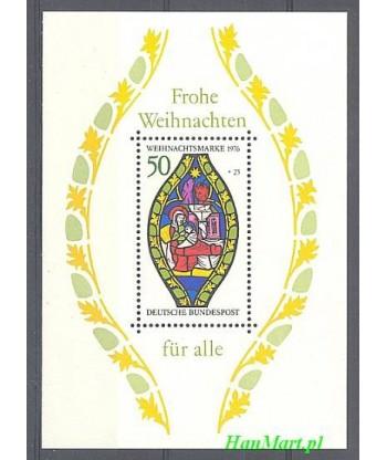Niemcy 1976 Mi bl 13 Czyste **