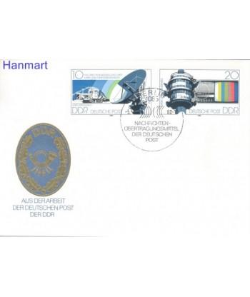 Niemiecka Republika Demokratyczna / DDR 1980 Mi 2490-2491 FDC