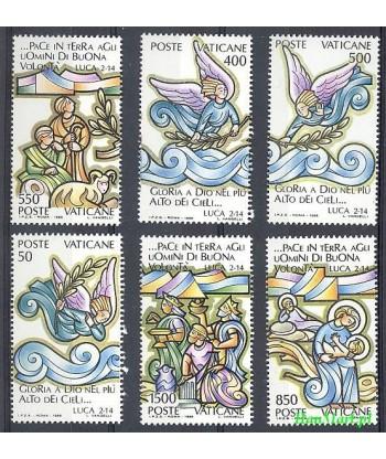 Watykan 1988 Mi 957-962 Czyste **