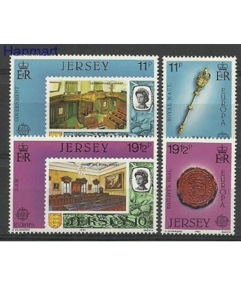 Jersey 1983 Mi 299-302 Czyste **