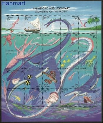 Palau 1993 Mi 633-657 Czyste **