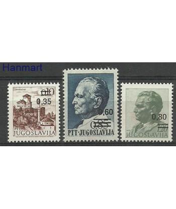 Jugosławia 1978 Mi 1755-1757 Czyste **