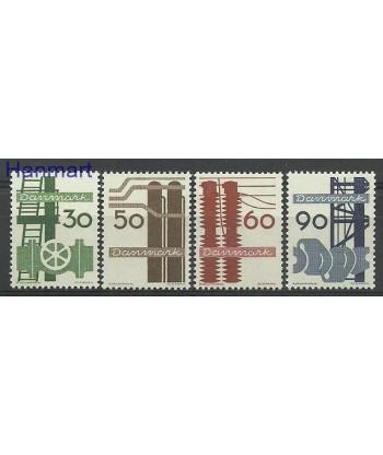 Dania 1968 Mi 470-473 Czyste **