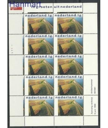 Holandia 1998 Mi ark1662 Czyste **