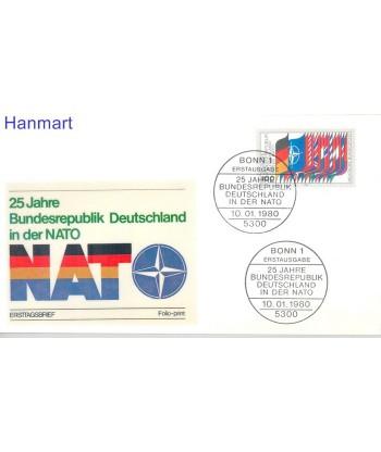 Niemcy 1980 Mi  FDC