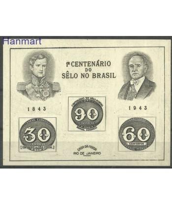 Brazylia 1943 Mi bl 6 Czyste **