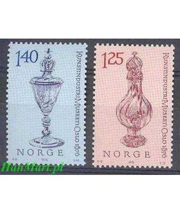 Norwegia 1976 Mi 722-723 Czyste **