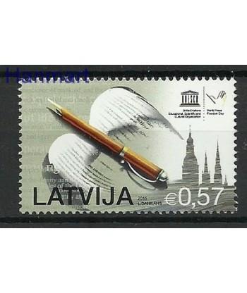 Łotwa 2015 Mi 945 Czyste **