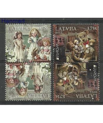 Łotwa 2015 Mi 941-942 Czyste **