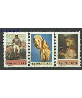 Brazylia 1980 Mi 1765-1767 Czyste **