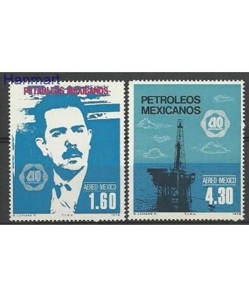 Meksyk 1978 Mi 1579-1580 Czyste **