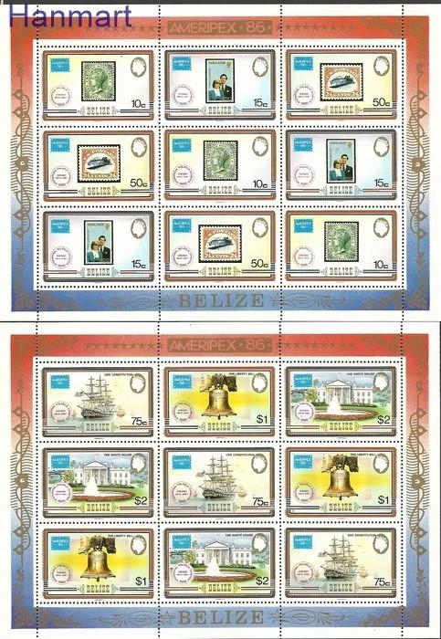 Belize 1986 Mi 892-897 MNH