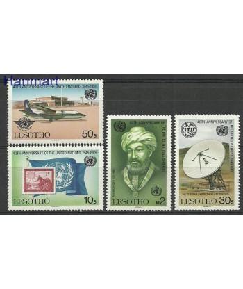 Lesotho 1985 Mi 536-539 Czyste **
