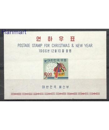 Korea Południowa 1966 Mi bl 241 Czyste **