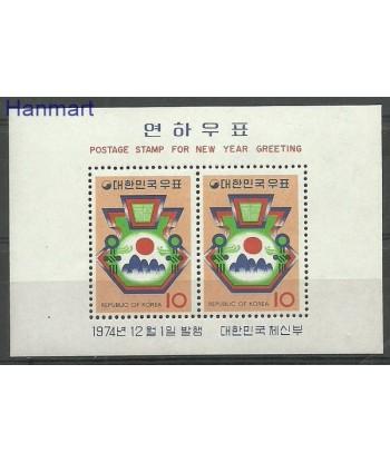 Korea Południowa 1974 Mi bl 401 Czyste **