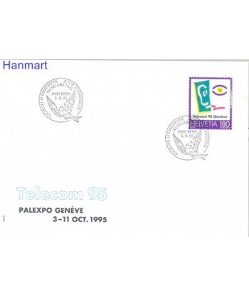 Szwajcaria 1995 Mi 1559 FDC