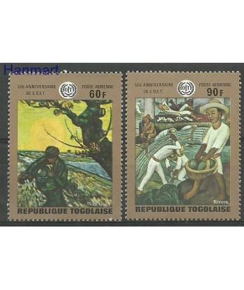 Togo 1970 Mi 776-777 Czyste **