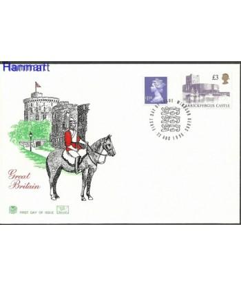 Wielka Brytania 1995 Mi 1585-1586 FDC