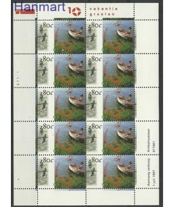 Holandia 1997 Mi ark1623 Czyste **