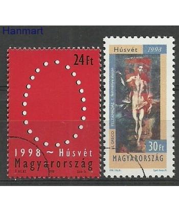 Węgry 1998 Mi 4488-4489 Stemplowane