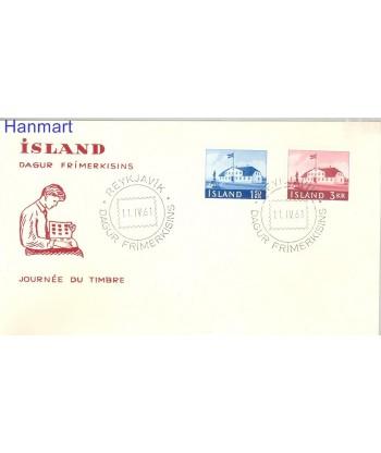 Islandia 1961 Mi  FDC