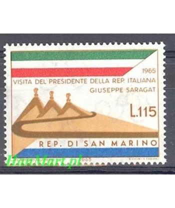 San Marino 1965 Mi 849 Czyste **