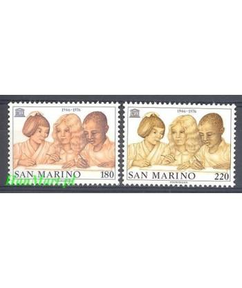 San Marino 1976 Mi 1123-1124 Czyste **
