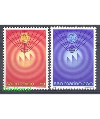 San Marino 1978 Mi 1160-1161 Czyste **