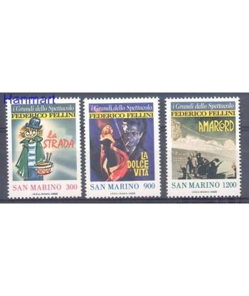 San Marino 1988 Mi 1391-1393 Czyste **