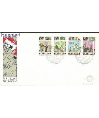 Holandia 1984 Mi 1259-1262 FDC