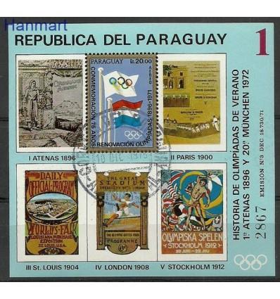 Paraguay 1972 Mi bl 183 Cancelled