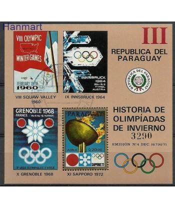 Paragwaj 1972 Mi bl 186 Stemplowane