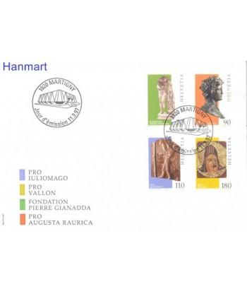 Szwajcaria 1997 Mi 1605-1608 FDC