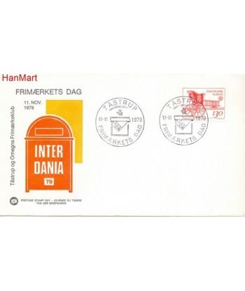 Dania 1979 Mi 686 FDC