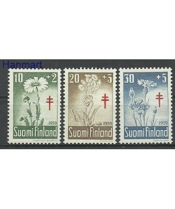 Finlandia 1959 Mi 509-511 Czyste **