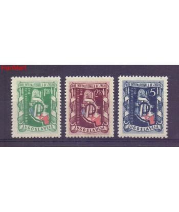 Jugosławia 1948 Mi 539-541 Czyste **