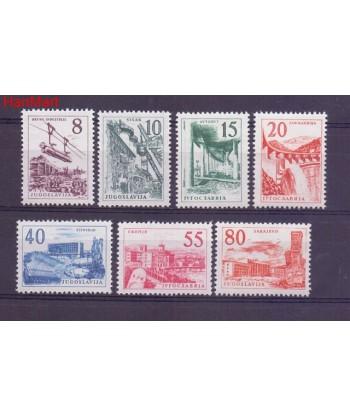 Jugosławia 1959 Mi 891-897 Czyste **