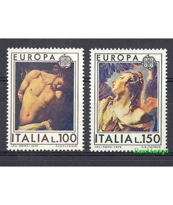 Włochy 1975 Mi 1489-1490 Czyste **