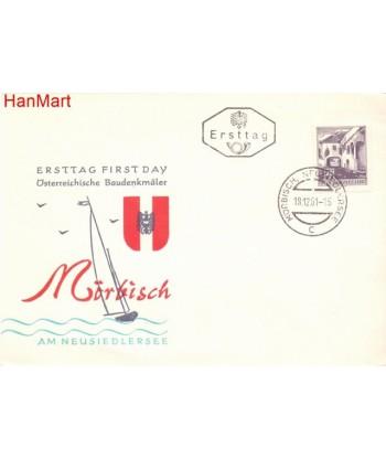 Austria 1961 Mi 1102 FDC