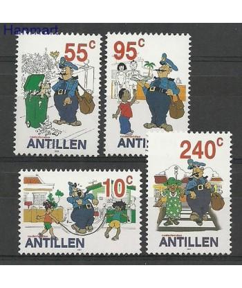 Antyle Holenderskie 2002 Mi 1146-1149 Czyste **