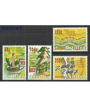 Antyle Holenderskie 2007 Mi 1596-1599 Czyste **