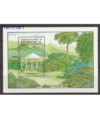 Dominika 1992 Mi bl 203 Czyste **