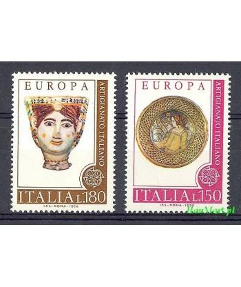 Włochy 1976 Mi 1530-1531 Czyste **