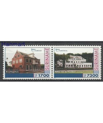 Surinam 2001 Mi 1789-1790 Czyste **