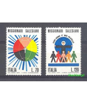 Włochy 1977 Mi 1563-1564 Czyste **