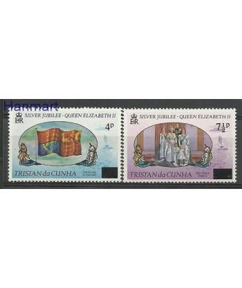 Tristan da Cunha 1977 Mi 220-221 Czyste **