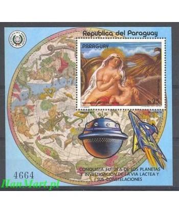Paragwaj 1977 Mi bl 292 Czyste **