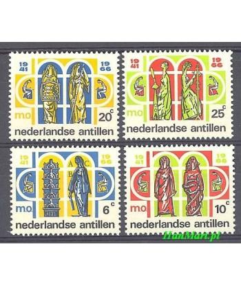 Antyle Holenderskie 1966 Mi 166-169 Czyste **