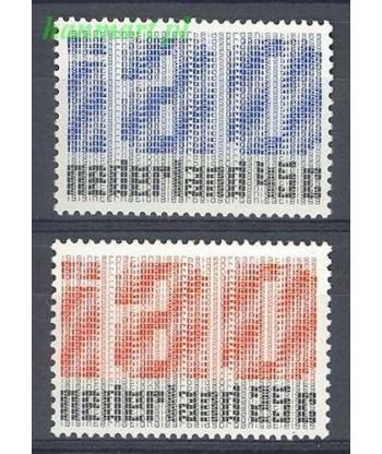 Holandia 1969 Mi 912-913 Czyste **
