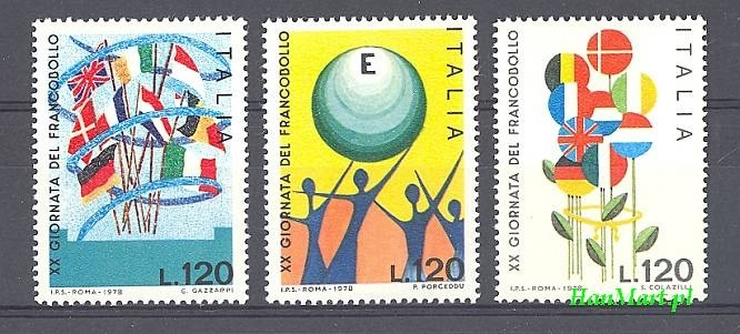 Italy 1978 Mi 1632-1634 MNH